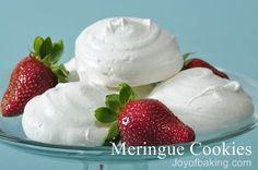 Meringue Recipe for wedding or Bridal shower
