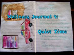 Wellness Journal Making Time For Quiet Time Emotional Healing, Make Time, Art Therapy, Arts And Crafts, Wellness, Journal, Pretty, Blog, Blogging