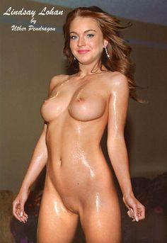 Голая Lindsay Lohan