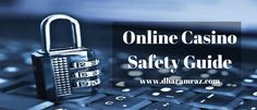 A Guide for staying safe and secure while gamble online. Learn what security features should be taken for 100% safe online gambling.  Read Now https://bit.ly/2GxhIE9  #OnlineCasinoSafetyGuide #OnlineCasinoTips #OnlineCasinoSecurity #CasinoSecurityGuide #BamblingTips #dharamraz