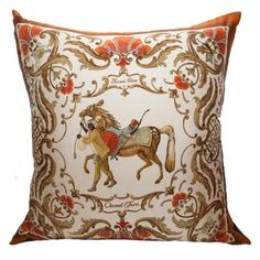 Hermes Cheval Turk Pillow