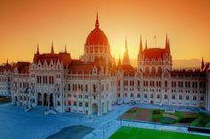 Budapest, Hungary by Mark Mervai Budapest Hungary, Taj Mahal, Beautiful Places, Marvel, Gallery, Building, Nap, Google, Roof Rack