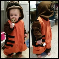 Molly's Toddler/Child Rocket Raccoon Costume