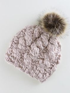 Chunky Cable Knit Hat Cable Knit Hat 6ab35c06d44e