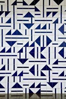 Gallery of tiles designed by brasilian designer Athos Bulçao. Estórias de Design: Athos Bulcão