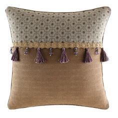 Croscill Home Fashions Zarina Fashion Pillow