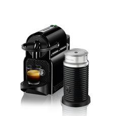 Inissia & Aeroccino3 DeLonghi Black | Nespresso coffee machine