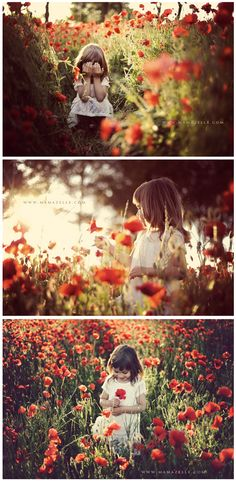 S - poppy field delights ... I'd love to find a field of flowers for a session like this....