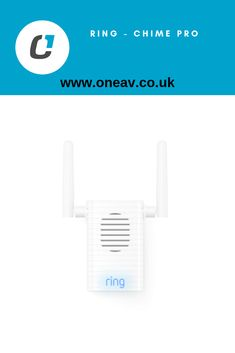 Wi-Fi extender and indoor Chime for Ring devices. Wi Fi, Indoor, Rings, Interior, Ring, Jewelry Rings