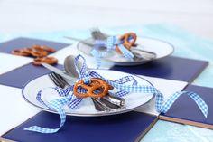 Oktoberfest, Brezel, Tisch-Deko, kuehne.de