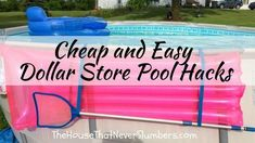 Above Ground Pool Decks, In Ground Pools, Easy Set Pools, Cheap Pool, Pool Care, Pool Hacks, Stock Tank Pool, How To Remove Rust, Outdoor Pool