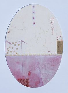 """© COLMADO MAZA Collage sobre madera (34 x 23,5 cm.).  Titulo: """"El poder de la sencillez"""""""