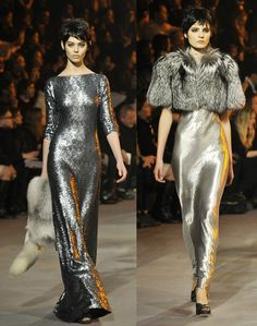Marc Jacobs' Sequined Dresses at the Mercedes-Benz NY Fashion Week