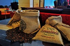We use Robusta home made coffee at Chatter Lounge #coffee #deco #decoration #hotel #nomnomnom #travel Semarang, Hotel, Nom Nom, Burlap, Reusable Tote Bags, Lounge, Homemade, Coffee, Decor