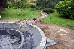 Swimming pond, staw kąpielowy