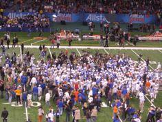 Florida Gators after the Sugar Bowl win.