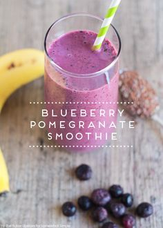 blueberry pomegranate smoothie