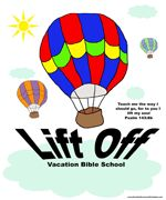 Free VBS...Lift Off VBS theme this year,  including fun coloring pages,  printables, games and other resources.   There is plenty to see when your  soaring through the sky!