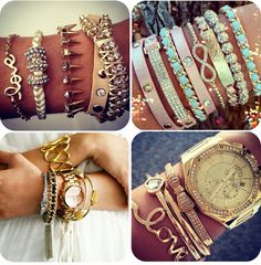 Love The Stacked Bracelet Trend