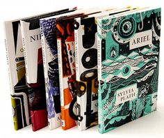 Miriam Rosenbloom's Bookcovers: Book Cover designs for faber's classic poetry selection