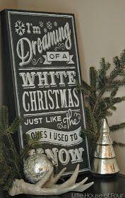 Neutral Christmas Home Tour 2014