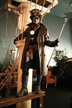 Steampunk Clothing | if you are interested in the steampunk culture you can be a steampunk ...