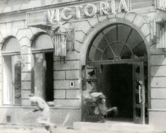 Warsaw Uprising (1944) - The Victoria Hotel on Jasna Street was in insurgent hands within the first hour of the uprising and soon became their headquarter
