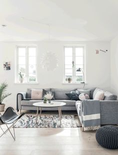 Une maison blanche et neuve au Danemark | PLANETE DECO a homes world