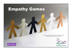 This handbook presents a number of empathy games that can be used by your scouts to understand how people react and interact together. Bonding Activities, Activities For Adults, Therapy Activities, Counseling Activities, Social Emotional Development, Social Emotional Learning, Teaching Empathy, Teaching Kids, Social Work