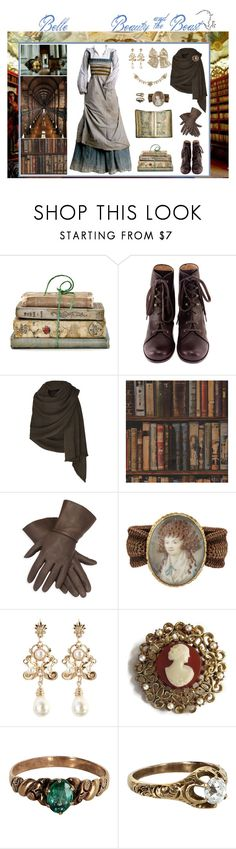 """""""Belle"""" by shannen-legere-lavigne ❤ liked on Polyvore featuring Shabby Chic, Chie Mihara, Bamford, Andrew Martin, belle, fairytale and BeautyandtheBeast"""