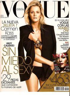 Vogue Espana May 2009 Cover (Vogue Espana)