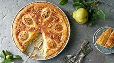 Hruškový koláč s mascarpone