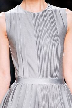 Beautiful pintucks on a lovely dress