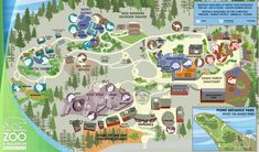 Point Defiance Zoo & Aquarium > Zoo Map, Tacoma, WA