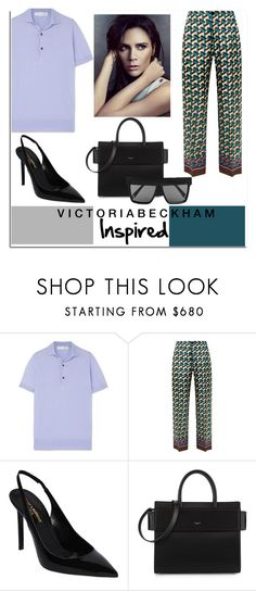 """Posh it Like Beckham..."" by nfabjoy ❤ liked on Polyvore featuring Victoria Beckham, F.R.S For Restless Sleepers, Yves Saint Laurent and Givenchy"