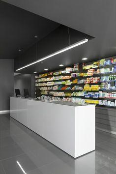 Campos Pharmacy by e|348, Póvoa de Varzim   Portugal store design