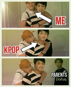 I almost find the connection between them sweet. Rap Monster finds Jungkook multitalented and a professional at everything, while we have Jungkook joining BigHit because of Rap Monster. The closeness of the BTS members is so sweet! K Pop, Bts Bangtan Boy, Jhope, Namjoon, Jimin, Jungkook Funny, Bts Taehyung, Memes Bts Español, Bts Memes Hilarious