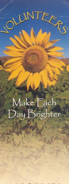 Thank You Volunteers Poems - Volunteer Appreciation Poem ...