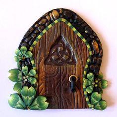 Shamrock Fairy Door Kids Wall Art Home Decor | review | Kaboodle