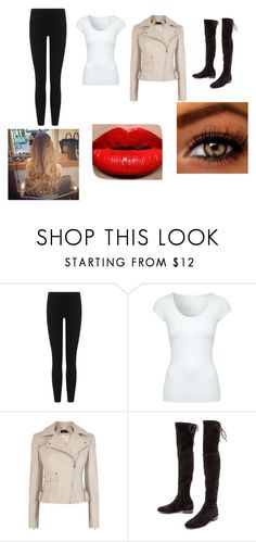 """""""Day89"""" by yamy1517 ❤ liked on Polyvore featuring James Perse, Jane Norman, Karen Millen and Stuart Weitzman"""