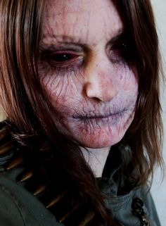 Could be possession or a vampire that's just been staked. #Sclera #SFX