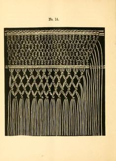 The imperial macramé lace book. With numerous i...