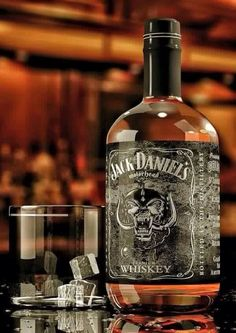 New bottle MotorHead Jack Daniels