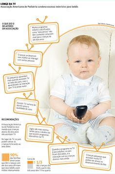 Folha.com - Equilíbrio e Saúde - Bebês de até 2 anos não devem assistir TV, dizem pediatras - 18/10/2011