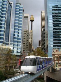 Monorail, Sidney, New South Wales, Australia