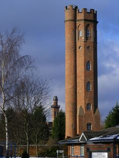 The Twin Towers, of Perrott's Folly (by R J Higginson) Tolkiens inspiration of the Two Towers Cadbury World, Tolkien, The Two Towers, Birmingham England, Kingdom Of Great Britain, Interesting Buildings, Beautiful Castles, West Midlands, Places To Visit