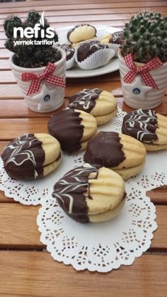 Çikolatalı Kurabiye