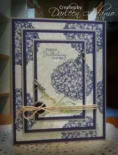 Happy Birthday, Davi!! by darleenstamps - Cards and Paper Crafts at Splitcoaststampers