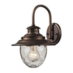 Searsport Regal Bronze 1-light Outdoor Sconce | Overstock.com Shopping - Big Discounts on ELK LIGHTING Wall Lighting