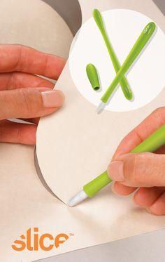 Slice Precision Cutter with micro-ceramic blade. Designed by Karim Rashid.